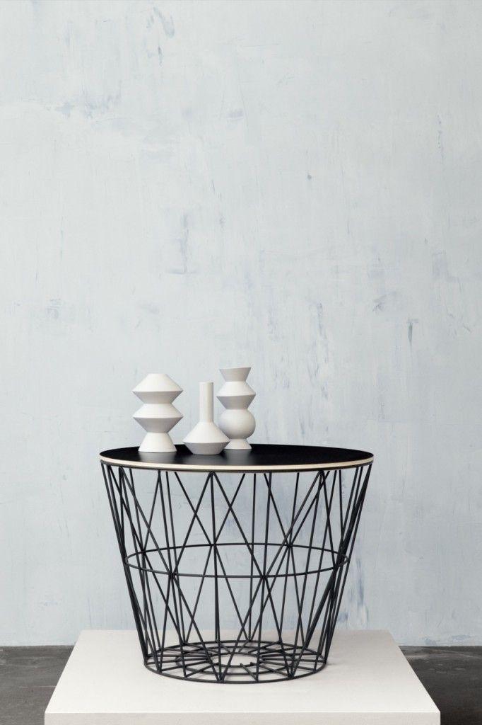 ferm LIVING SS14 collection | Panier métallique, Ferm living