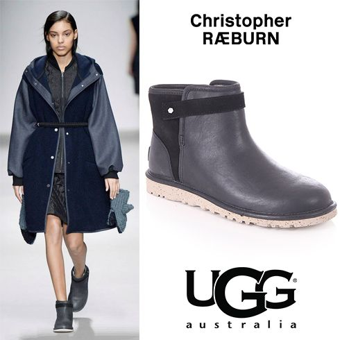 UGG Australia Makes London Fashion Week Debut At Christopher Raeburn Show.  Find these online here