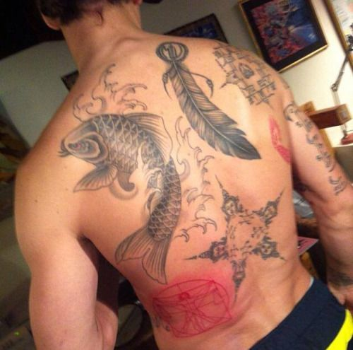 Image result for zlatan fish tattoo