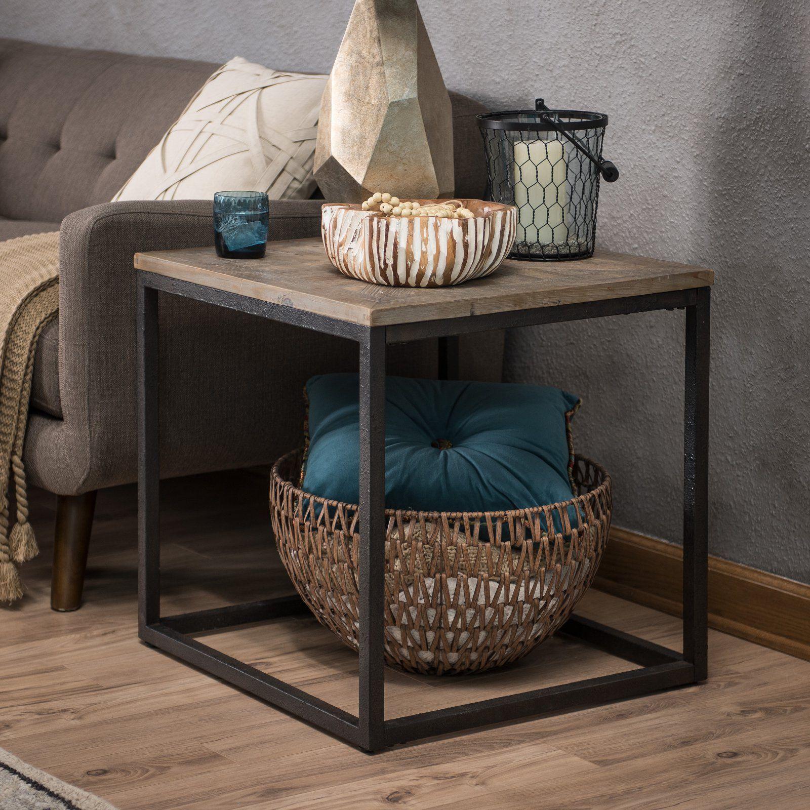 Super Belham Living Davenport Barn Door End Table In 2019 Customarchery Wood Chair Design Ideas Customarcherynet