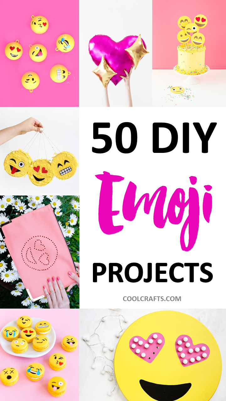 50 Diy Emoji Craft Ideas That Will Put A Smile On Your Face Craft