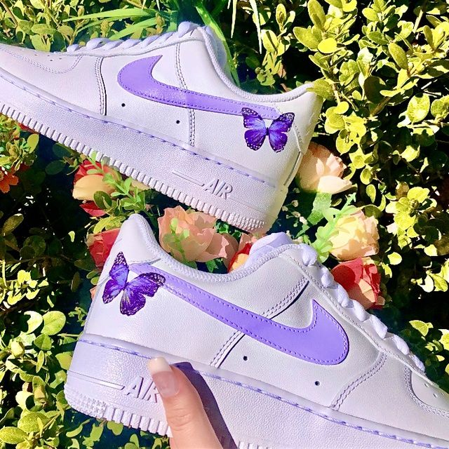 Butterfly Effect AF1 in 2020 Butterfly shoes, Aesthetic