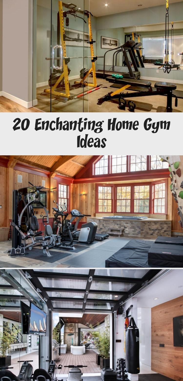 Barre with mirror   Home Gym Inspiration homegymTrx ...