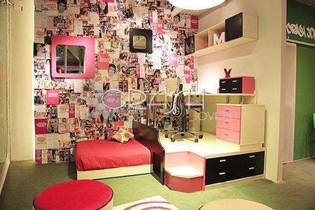 Dise o de habitaciones para adolescentes mujeres for Cuartos para ninas y adolescentes