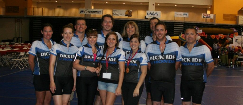 Dick Ide Honda >> Dick Ide Honda At The 2012 Tour De Cure In The Community
