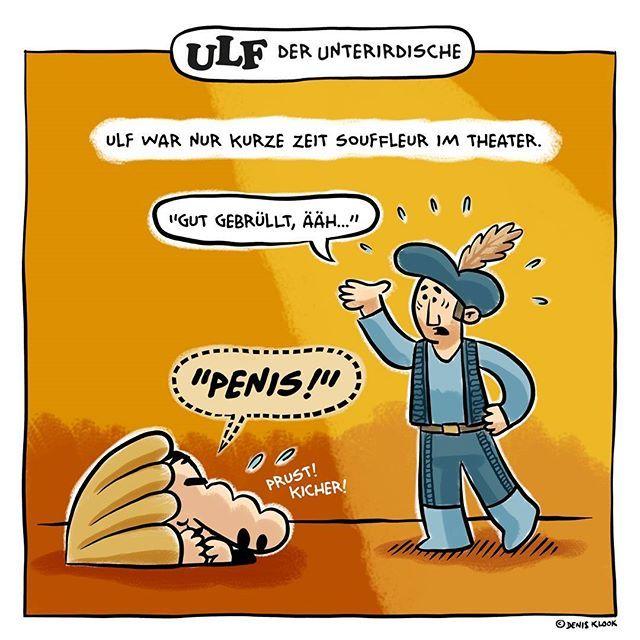Ulf Der Unterirdische Heute Der Vorflusterer Ulfunterirdisch