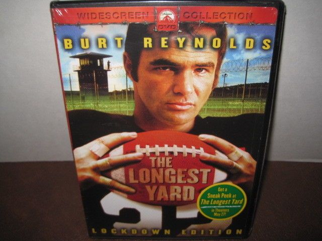 The Longest Yard (DVD, 2005, Special Edition Widescreen) BURT REYNOLDS FOOTBALL