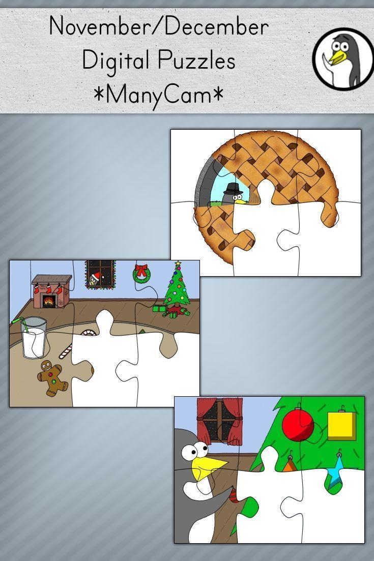 VIPKID / gogokid November/December Digital Puzzles