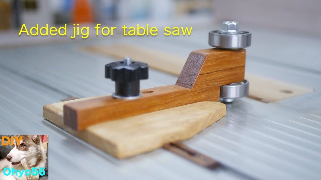 Another jig for table saw YouTube Table saw jigs