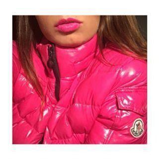 Love pink #pink#pinklips#fullips#lipstick#chanel#lovepink#makeup#mascara#winter#moncler#pinkmoncler#wintercoat#patent#winterstyle#mystyle#pinkstyle#fashion#fashionista#sporty#sportystyle