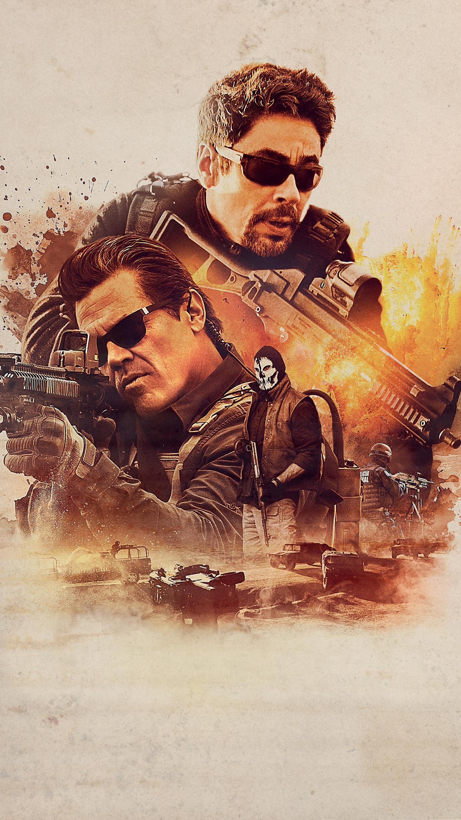 Film Sniper 2018 Subtitle Indonesia : sniper, subtitle, indonesia, Sicario:, Soldado, (2018), Phone, Wallpaper, Moviemania, Movies, Online,, Streaming, Free,, Online