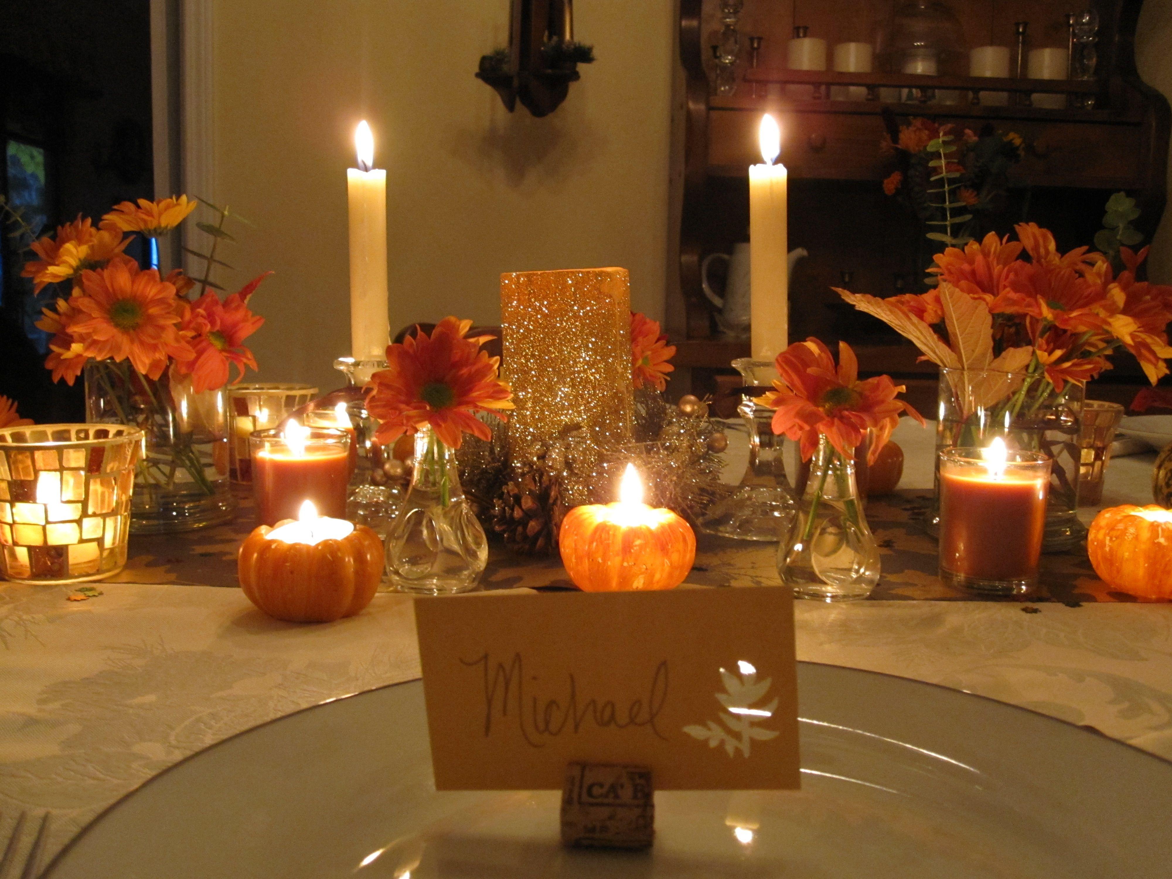 Thanksgiving Home Decor Ideas Part - 26: Interior Design Awesome Decorating And Setting Thanksgiving Table .