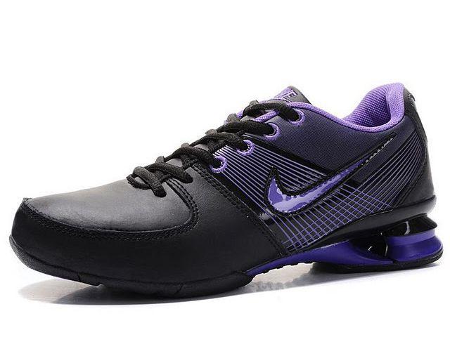 taille 40 ed6d6 3cbf3 Chaussures Nike Shox R2 Noir/ Violet [nike_12167] - €50.87 ...