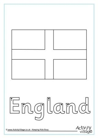 England Flag Printables England Flag Lion Coloring Pages St