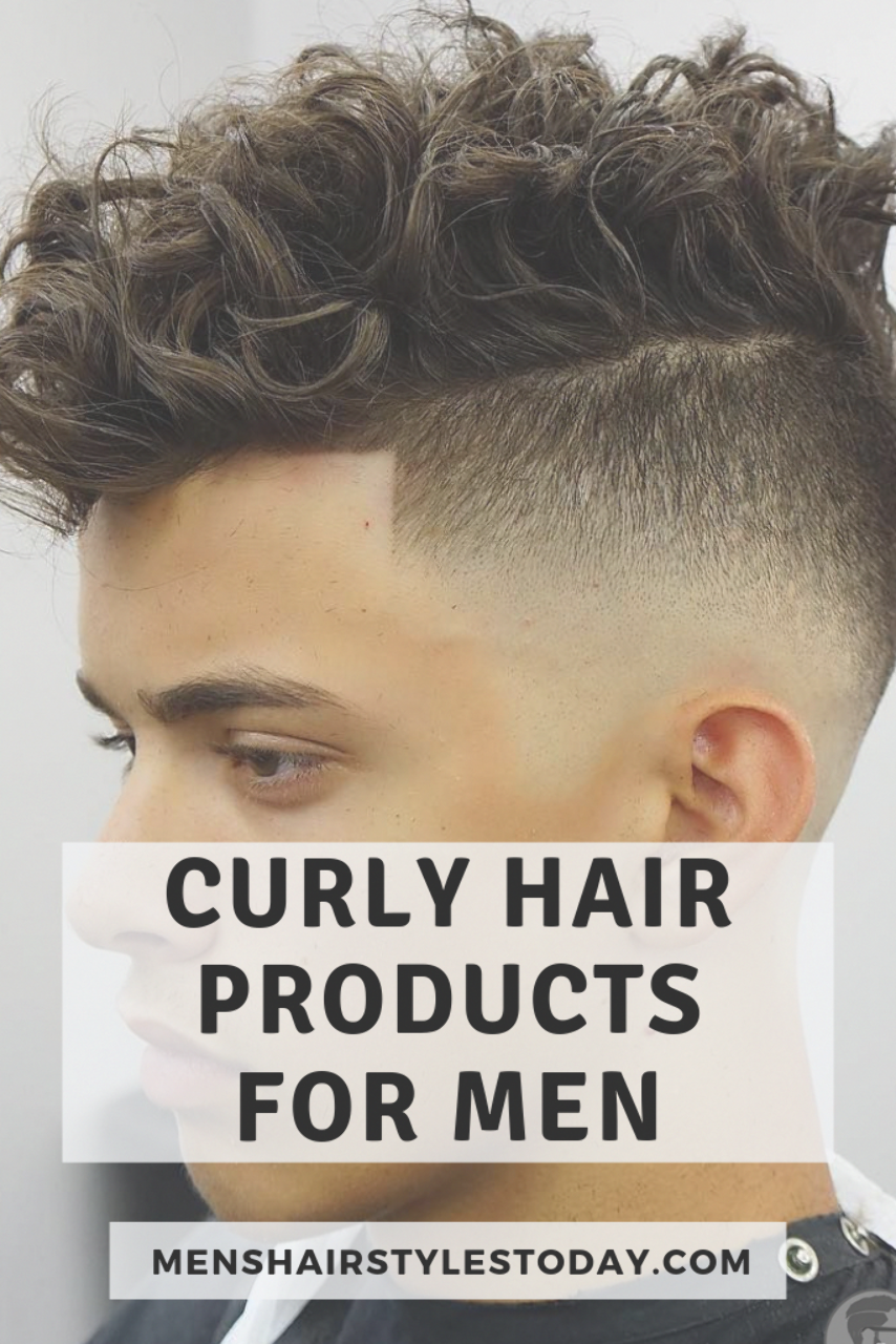 Curly Hair Men Mens Products Style Styling Best Curly Hair Products For Men Men S Hair Styling Curly Hair Styles Curly Hair Men Men S Curly Hairstyles