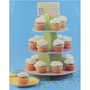 Bag Of Chips Welcome Baby Cupcake Stand Shop Hobby Lobby Baby Cupcake Cupcake Stand Cupcakes For Boys