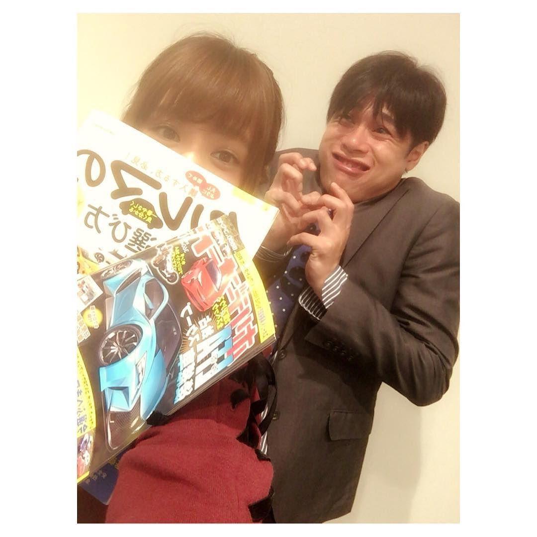 吉村さんに車の本もらった 顔がすごすぎるなにこれ笑  #10月1日スタート #TOKYOMX #スーパーカーバラエティー #自動車冒険隊 by tannana.yamada
