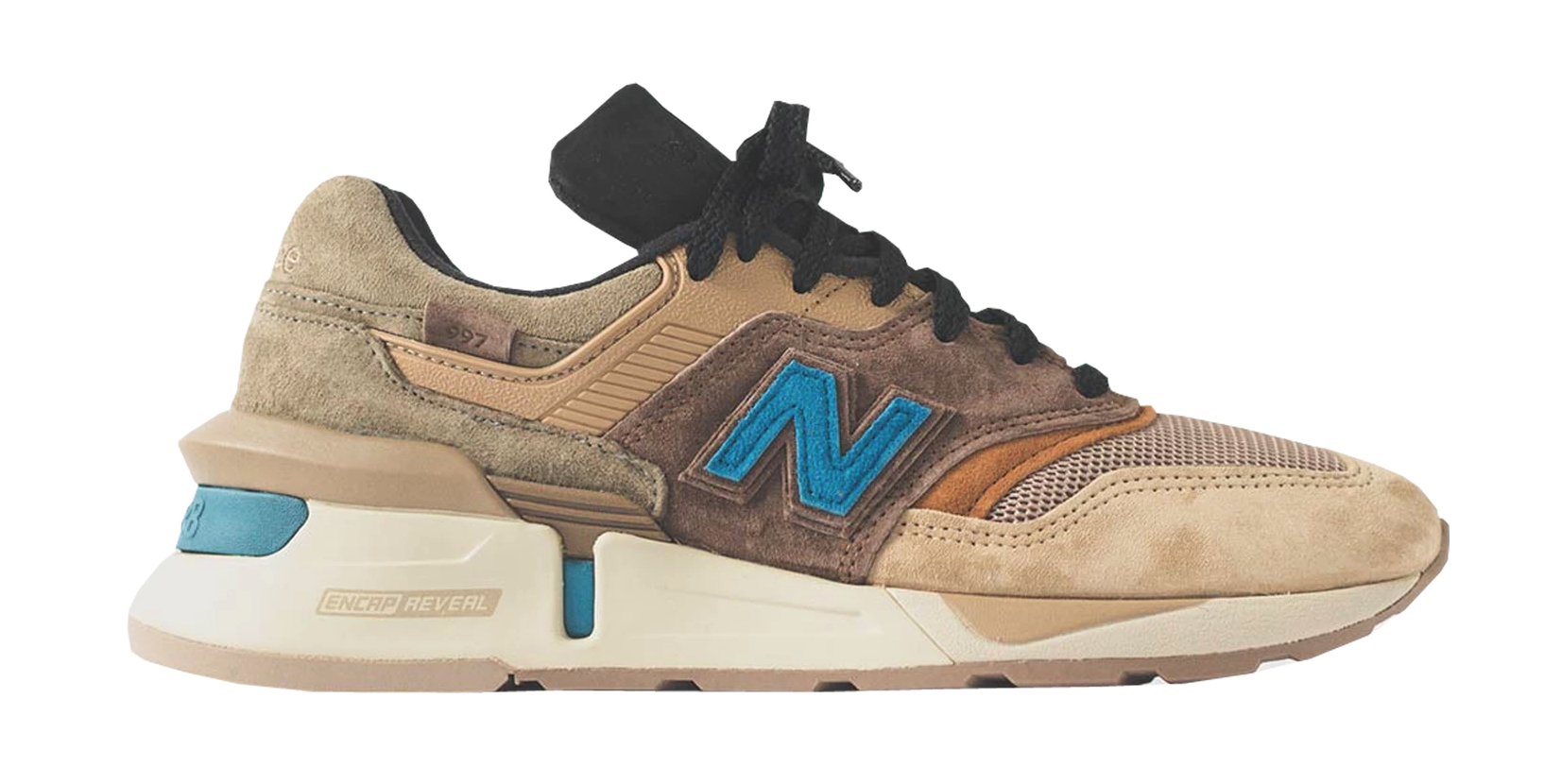 quality design fe721 4ab93 New Balance 997S Fusion Kith x nonnative Brown Beige | My ...