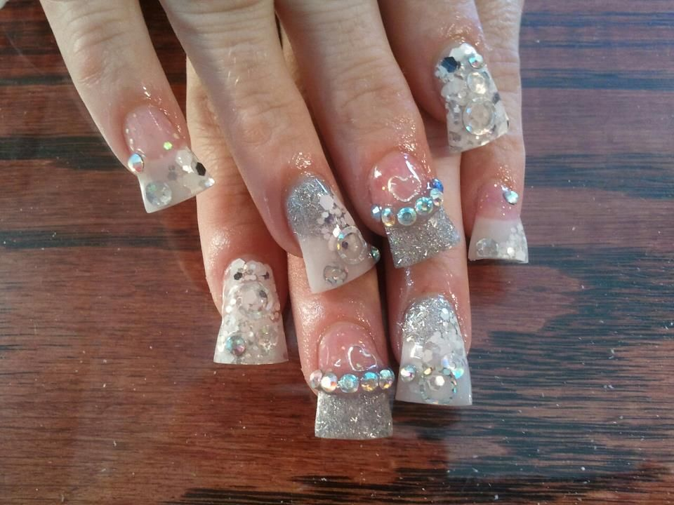 flare tips, glitter nails call Kristal at 916-670-0010 for an ...