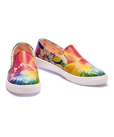 Goby Rainbow Dream Catcher Slip-On Sneaker | zulily