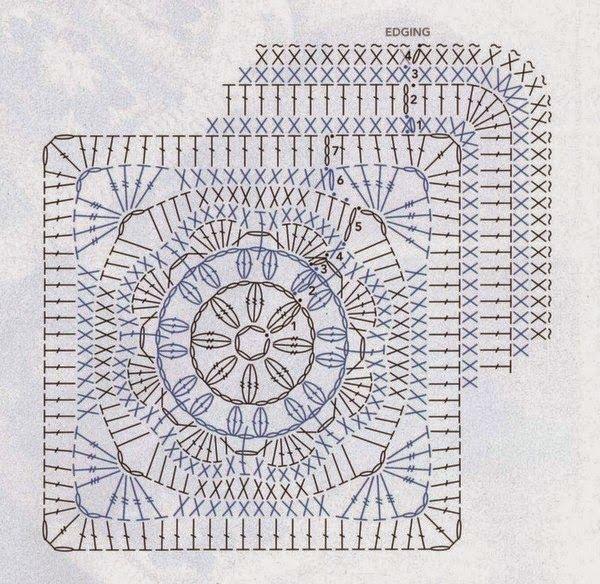 Tecendo Artes em Crochet: Uma Manta Muito Linda (Fácil) para Vocês ...