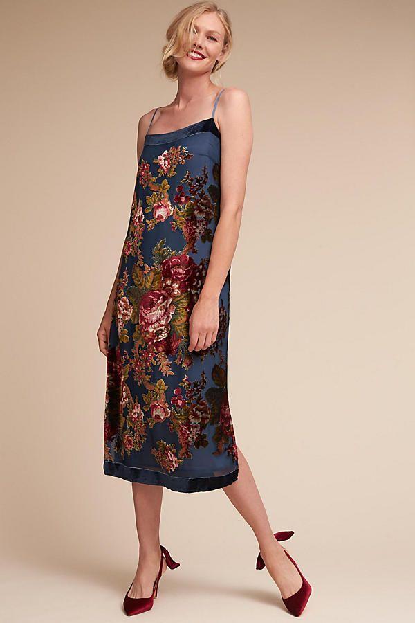 db51dae2f54e6 Carlson Burnout Velvet Dress | My Style | Dresses, Blue velvet dress ...