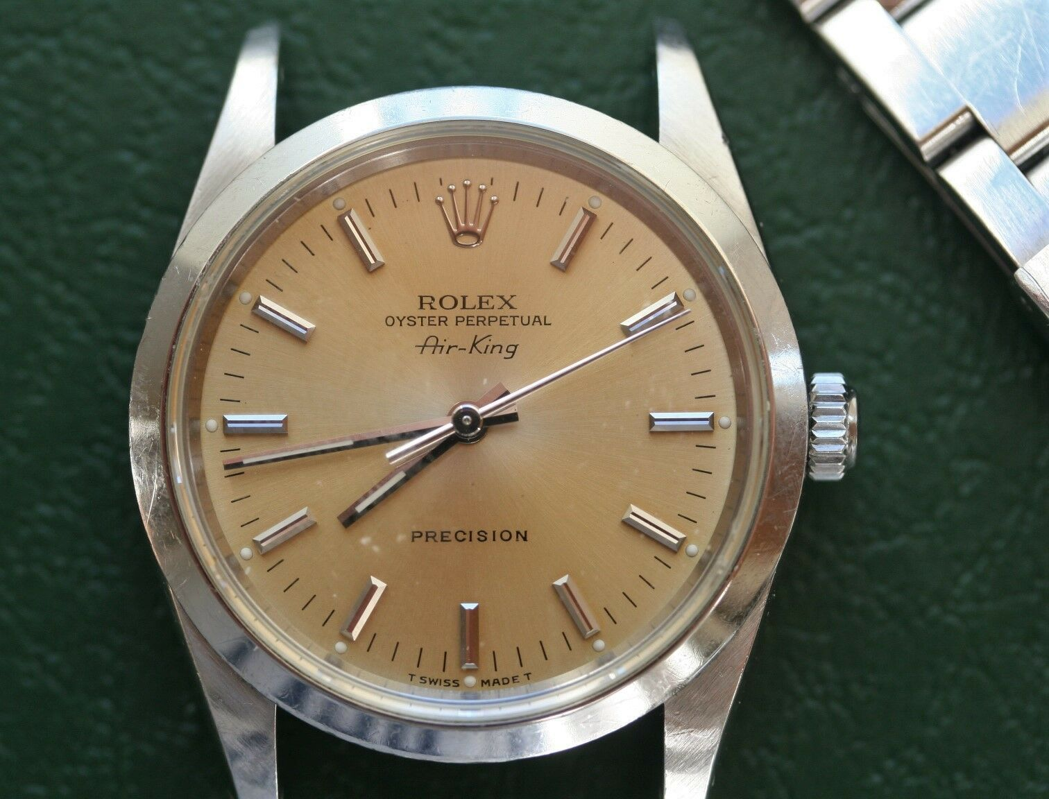 Details about Rolex AirKing Stainless Steel 14000 in 2019