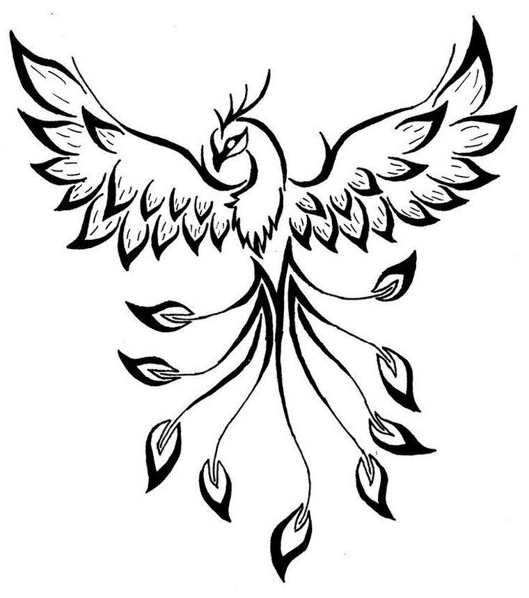 phoenix tattoo meanings and ideas in pictures ideas. Black Bedroom Furniture Sets. Home Design Ideas