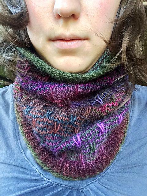 Ravelry: Wrapped Slip Stitch Cowl pattern by Marisa Gomez; free ...
