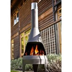 Buy Large Steel Garden Chiminea At GardenMore