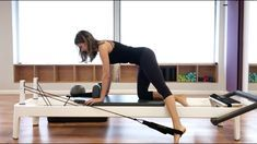 Pilates Reformer: Full Body Class Routine #pilatesworkoutvideos
