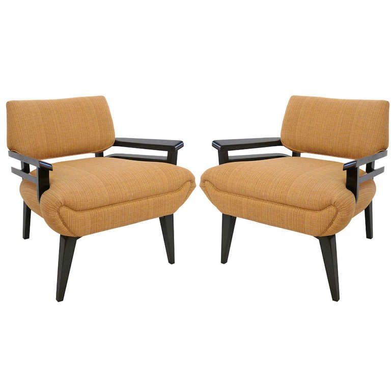 Pair of Paul Frankl Armchairs From a unique collection of antique
