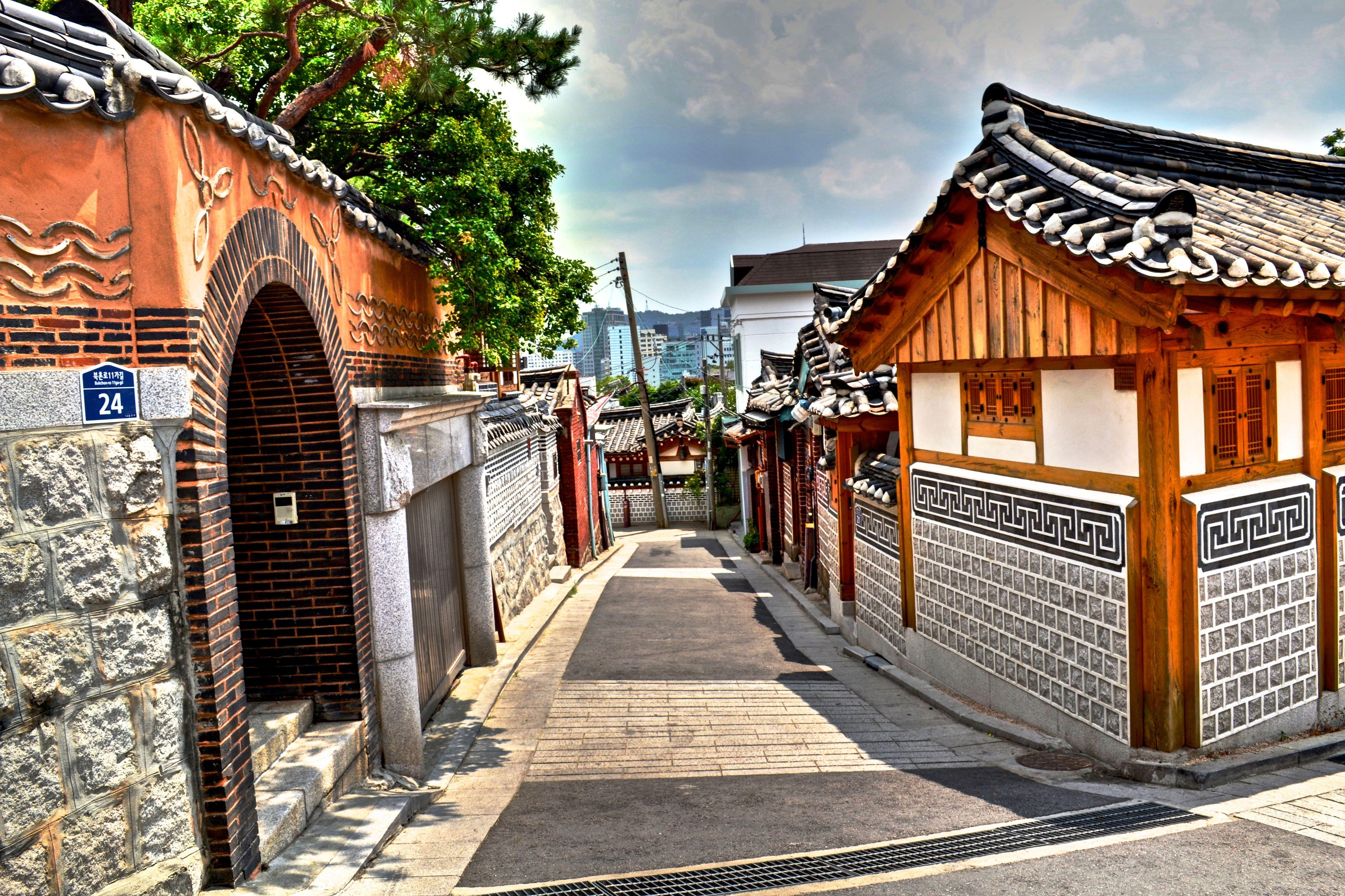 hanok floor plan - Google Search | Hanok (Korean Traditional ...