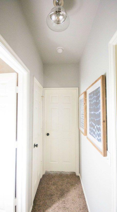 A Quick And Easy Hallway Makeover - Oeil De Porte D Entree