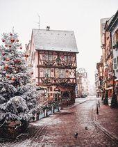 42 wunderschöne Winterbilder, Winterbild #winterästhetisch #winterlich #weihna…