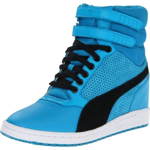 df63e756ec6 PUMA Women s Sky Wedge WN Fashion Sneaker found on Polyvore