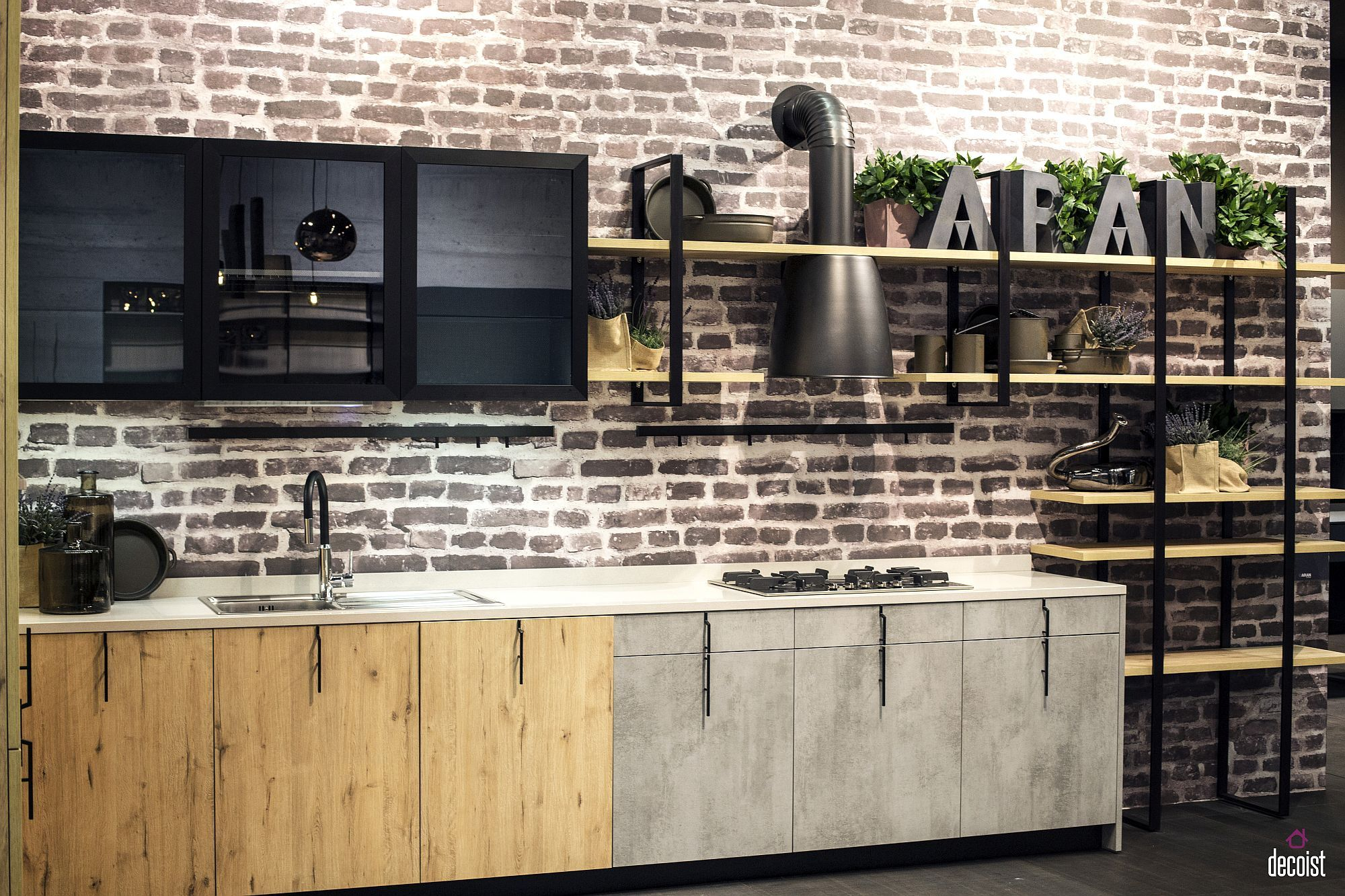 Single Wall Kitchens Space Saving Designs With Functional Charm Single Wall Kitchen Modern Kitchen Design One Wall Kitchen