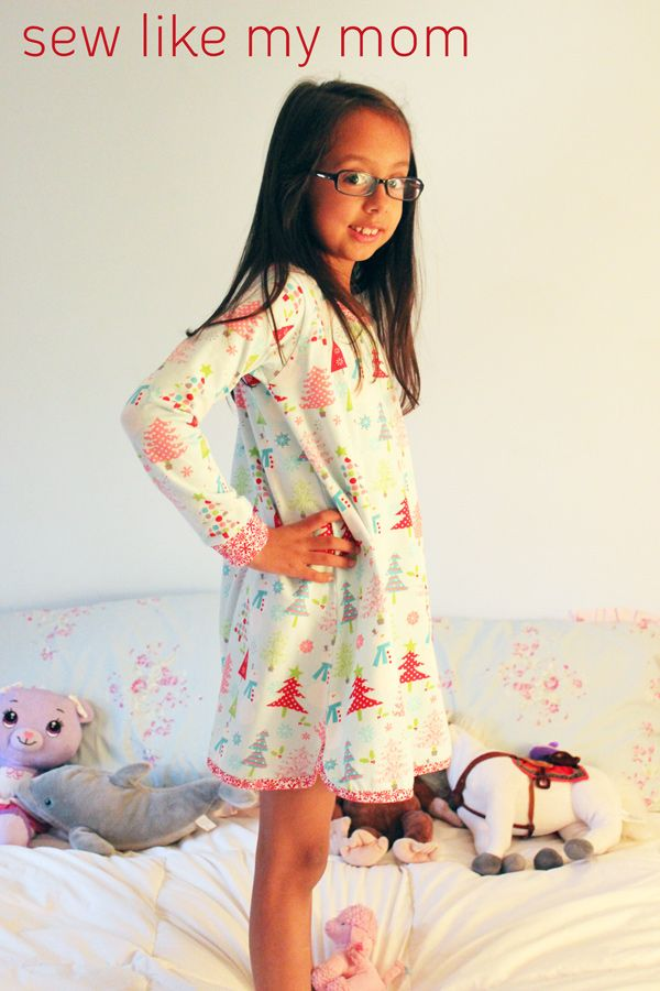 Project Design Team Wednesday ~ Clover Nightgown | Riley Blake ...