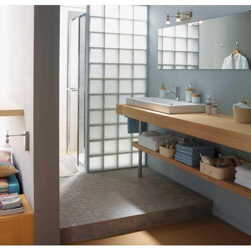 carrelage mural salle de bain | Carrelage mural, Carrelage et Meuble ...