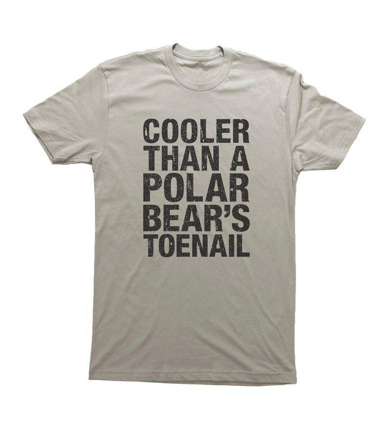 Hip Hop Quote Tshirt, Hip Hop Tee, POLAR BEAR'S TOENAIL