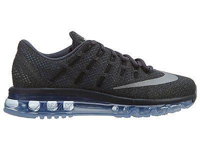 Nike Air Max 2016 Women Grey Chalk Blue Mesh Running Shoes 806772 004