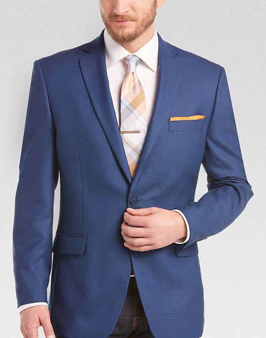 Blue sport coat for Duane men's warehouse clearance | Christmas ...