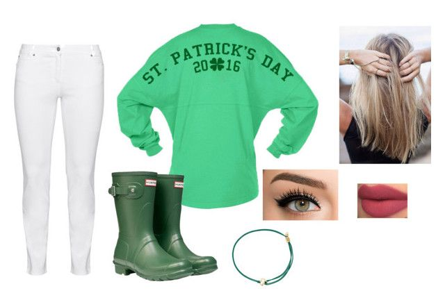 """""""St. Patricks Day"""" by audreyelizabet4 ❤ liked on Polyvore featuring Steilmann, Hunter and Alex and Ani"""