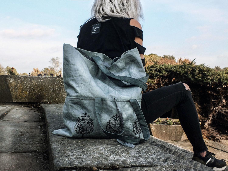 Cotton Bag Eco Bodhi Tree Cotton Bag Bags Tote Bag