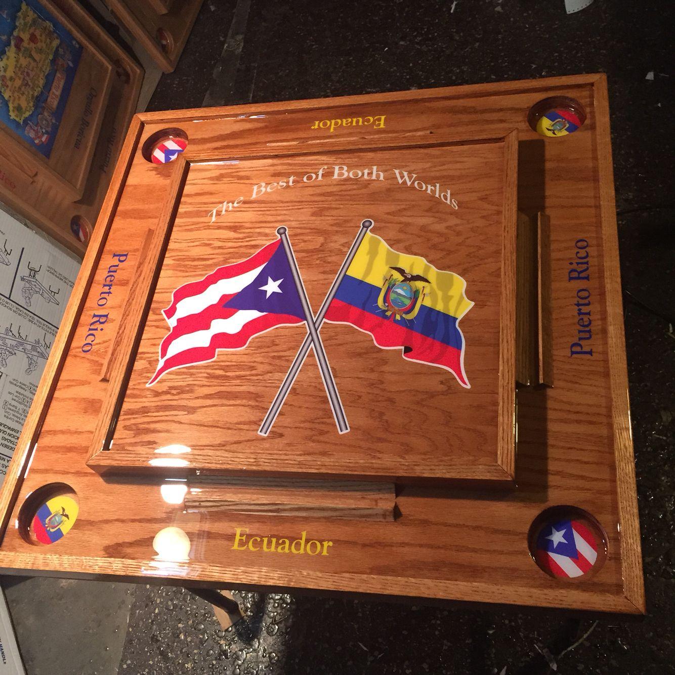 Puerto Rico Ecuador Domino Table Domino Table Puerto