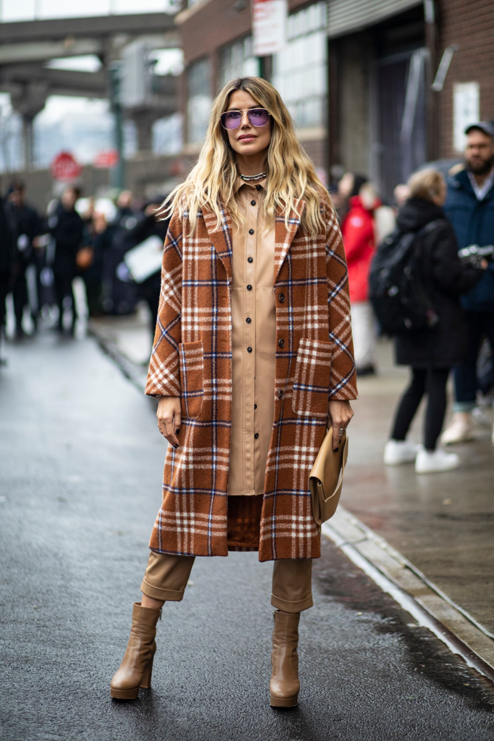 In the Nude - Best Street Style from New York Fashion Week