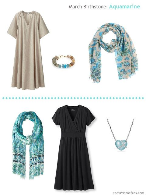 How to Wear Aquamarines - the March Birthstone I Have Suggestions