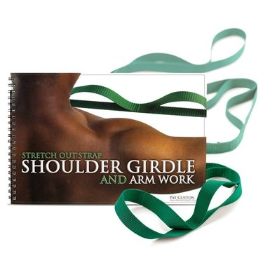 Stretch Out Strap Shoulder Girdle and Arm Work Package with Strap and Book by Pat Guyton | Shop OPTP.com