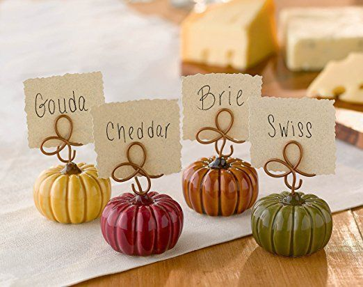 Thanksgiving Home Decorating Ideas 2017 - thanksgiivng place card