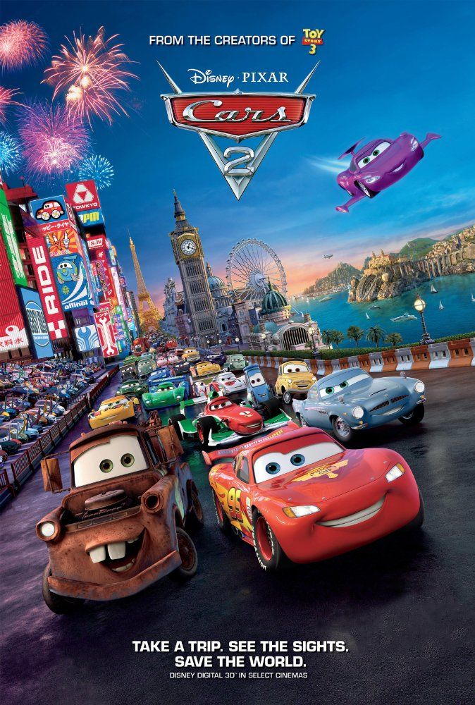 Cars 2 2011 Imdb Art Movie Posters Disney Pixar Cars Cars